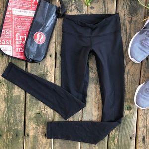 {Lululemon} Full Length Black Leggings, 2